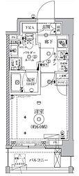 クレイシア西横浜グランカリテ[9階]の間取り