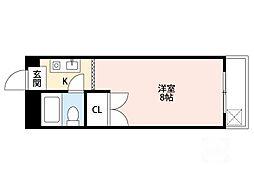 第8東昌ハイツ[4階]の間取り