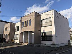 北海道札幌市東区伏古6条3丁目の賃貸アパートの外観