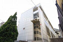千葉県松戸市北松戸3丁目の賃貸アパートの外観