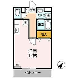 アバンウェル今井町Ⅱ番館[5階]の間取り