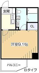 エイトカウンティービュー[3階]の間取り