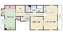 ウエハウス90[2階]の間取り