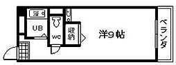 エスぺランス尾崎[106号室]の間取り