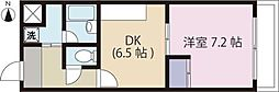 グランヒル7[1階]の間取り