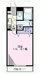 埼玉県川口市元郷の賃貸アパートの間取り