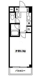 シリウス横濱[303号室]の間取り