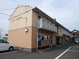 岡山県倉敷市北畝6丁目の賃貸アパートの外観