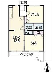 JMB[2階]の間取り