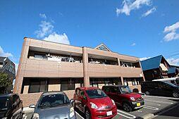 愛知県名古屋市中川区東春田3丁目の賃貸アパートの外観