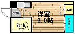 アウトバーンGK[7階]の間取り