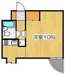 メゾンドリビエール[5階]の間取り