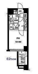 マーレ横浜白金[703号室]の間取り