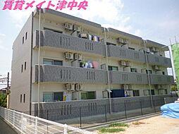 三重県津市川方町の賃貸マンションの外観