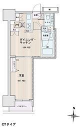 エスティメゾン錦糸町2[1204号室]の間取り