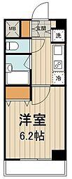 コンシェリア・デュー勝どき[105号室]の間取り