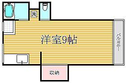 東中豊玉マンション[2階]の間取り