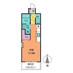 コート新栄[5階]の間取り