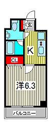 SS.Advance西川口[6階]の間取り