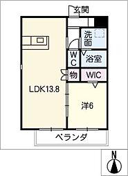 仮)四軒家マンション[5階]の間取り