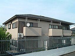 東京都中野区上鷺宮2丁目の賃貸アパートの外観