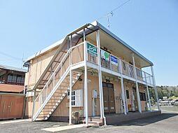 滋賀県甲賀市信楽町勅旨の賃貸アパートの外観