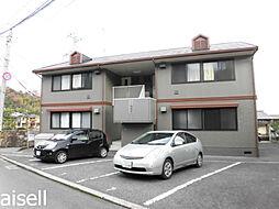 広島県広島市佐伯区屋代3丁目の賃貸アパートの外観