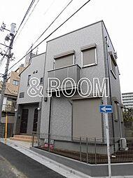 東京都中野区南台1丁目の賃貸アパートの外観