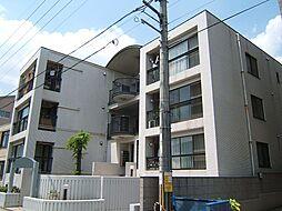 京都府京都市山科区大宅早稲ノ内町の賃貸マンションの外観