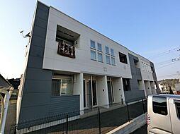 千葉県成田市久住中央4丁目の賃貸アパートの外観