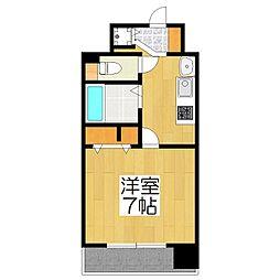 スワンズ京都五条大宮[204号室]の間取り