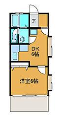 第一まるやまビル[2階]の間取り