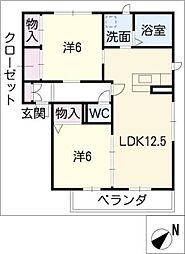 MASTTOWN藤塚[3階]の間取り