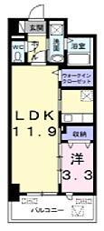 オンフォレスト芳泉[2階]の間取り