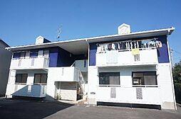 熊本県熊本市南区田迎3丁目の賃貸アパートの外観