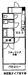 宮城県仙台市青葉区小松島2丁目の賃貸マンションの間取り