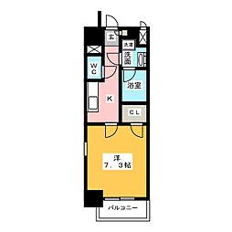 モン ヨイーエ[9階]の間取り