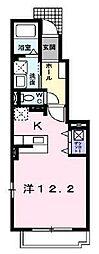 佐賀県佐賀市南佐賀3丁目の賃貸アパートの間取り