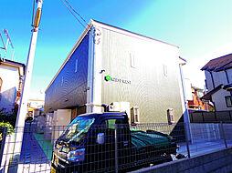 東京都小平市学園東町1の賃貸アパートの外観