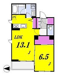 ラ・ルーチェ[306号室]の間取り