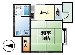 [一戸建] 千葉県東金市山口 の賃貸【/】の間取り