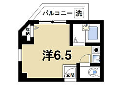 TMOマンション[2階]の間取り