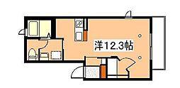 ラ・ルーチェII[2階]の間取り