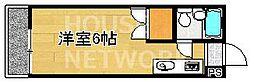 アクティ上賀茂[B201号室号室]の間取り