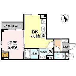 仮)D−ROOM大町東[302号室]の間取り