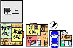 [一戸建] 東京都江戸川区本一色2丁目 の賃貸【/】の間取り