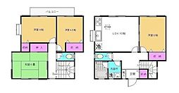 [テラスハウス] 神奈川県横浜市都筑区二の丸 の賃貸【/】の間取り