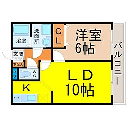 PIER3[1階]の間取り