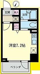 東京都町田市能ヶ谷1丁目の賃貸マンションの間取り