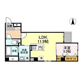 OTC田町マンション[2階]の間取り